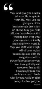 God Got You