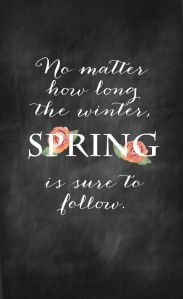 Spring Follows Winter
