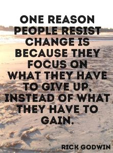 Change_Gaining not losing