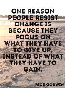 Change_Gaining not losing