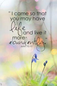 Christ_More Abundant Life