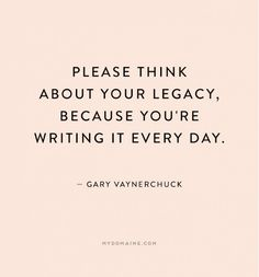 Legacy_Writing It